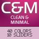 C&M 40 in 1 Clean & Minimal WordPress Theme  Free Download