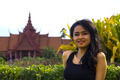 Cambodian attractive girl, national museum - PhotoDune Item for Sale