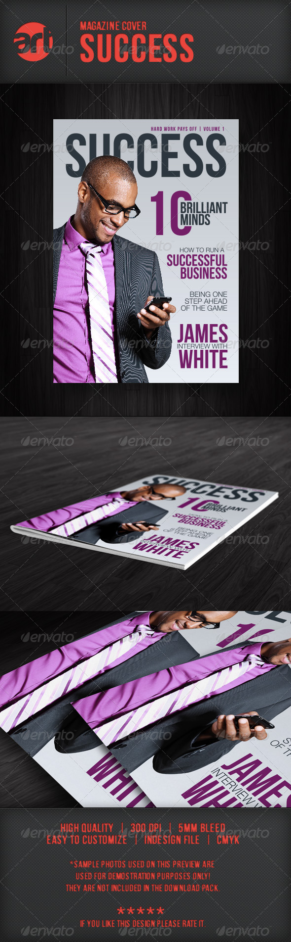 GraphicRiver Mag Cover Success 5726984