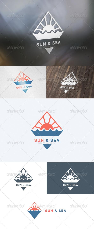 GraphicRiver Sun & Sea Logo 5727182
