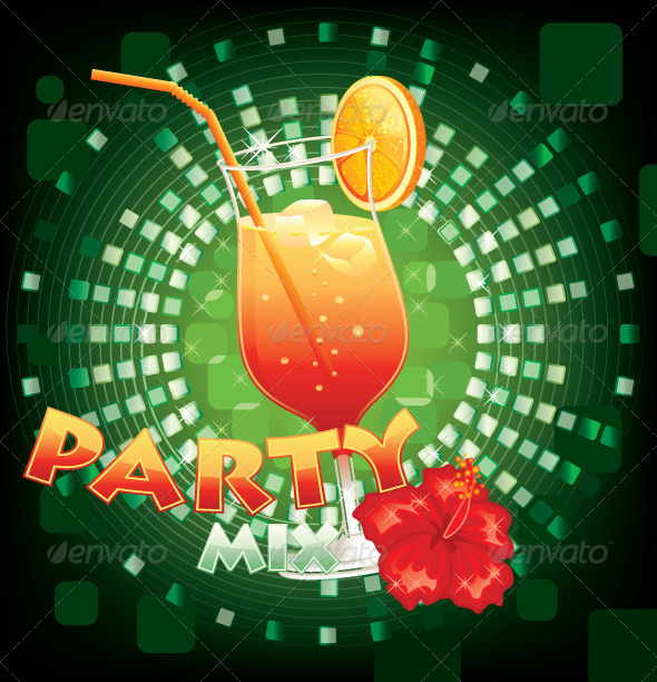 GraphicRiver Party Background 5727360