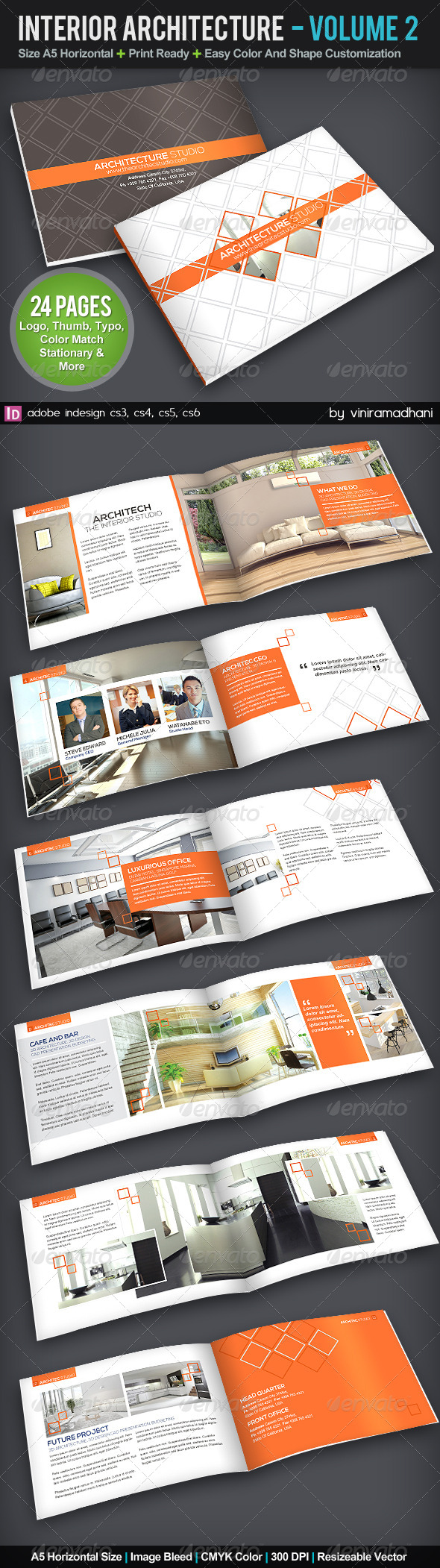 GraphicRiver Interior Achitecture Brochure Volume 2 5727633