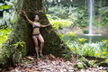 Sexy girl with bikini in forest - PhotoDune Item for Sale