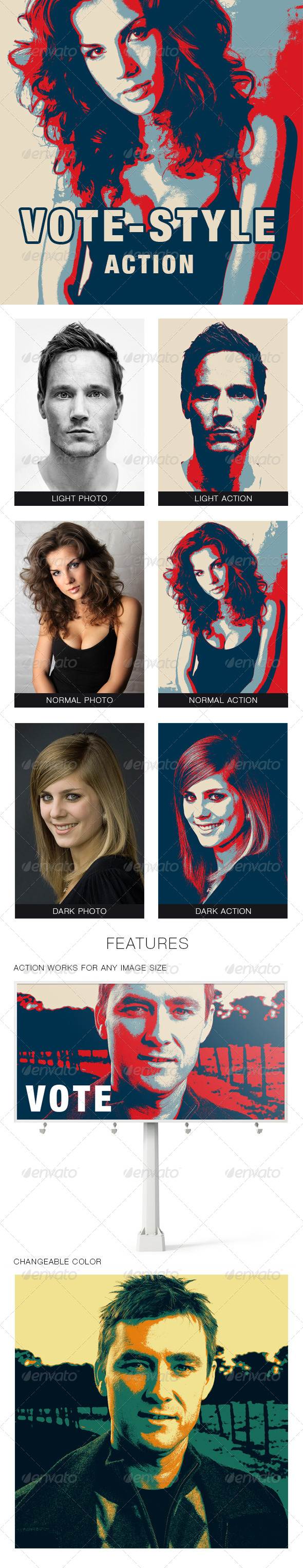 GraphicRiver Vote-style Photoshop Action 5728095