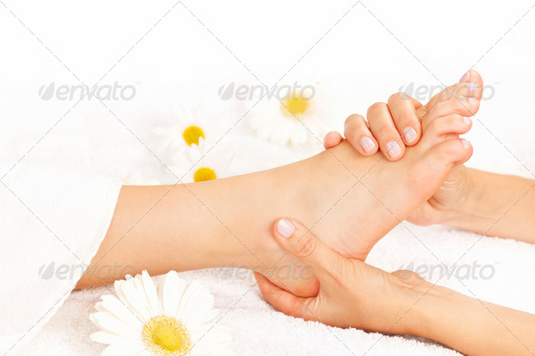 PhotoDune Foot massage 589823