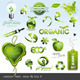 Eco & Bio Icons and Design Elements - GraphicRiver Item for Sale
