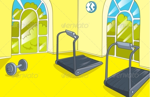 GraphicRiver Gym Room 5729139