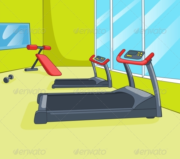 GraphicRiver Gym Room 5729140