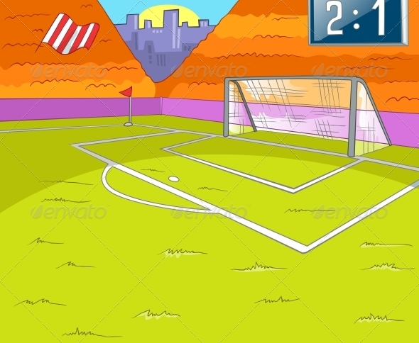 GraphicRiver Soccer Field 5729143