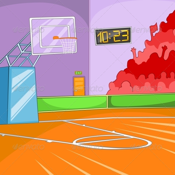 GraphicRiver Basketball Stadium 5729145