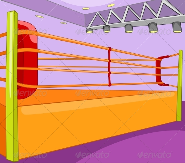 GraphicRiver Boxing Ring 5729147