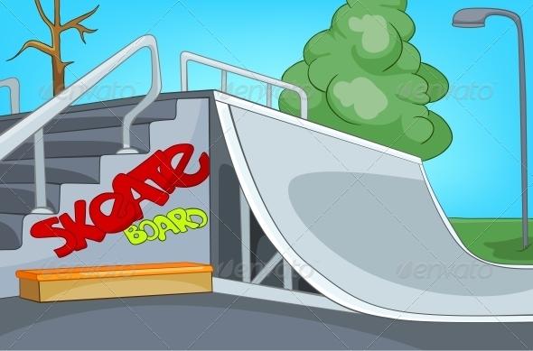 GraphicRiver Skate Ramp 5729173