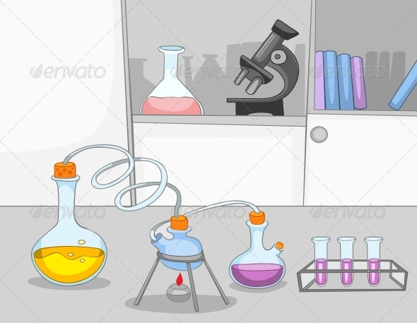 GraphicRiver Chemical Laboratory 5729201