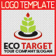 Eco Target Logo Template - GraphicRiver Item for Sale