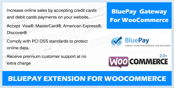 CodeCanyon BluePay Payment Gateway For WooCommerce 5729283