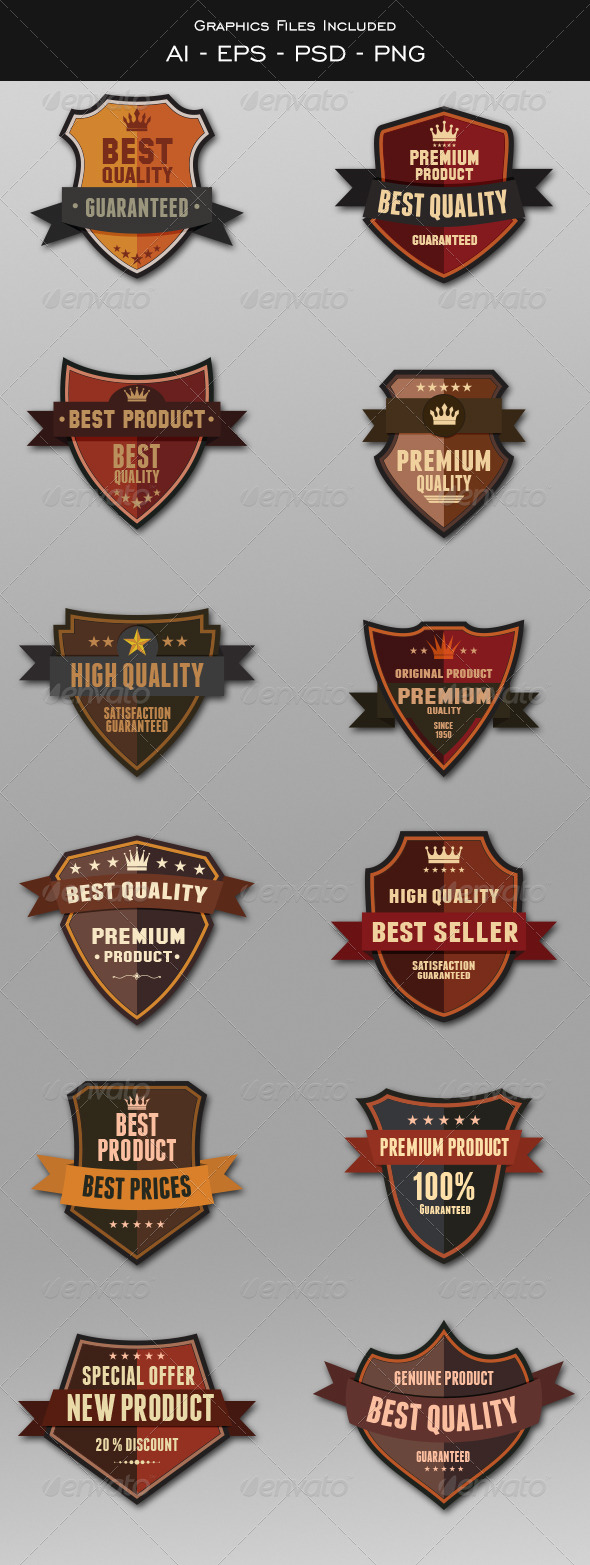 GraphicRiver Badges Design 5729639