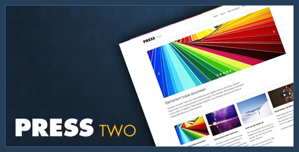 ThemeForest Press Two WordPress Magazine Theme 213065