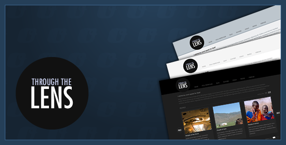 ThemeForest Through the Lens 158154