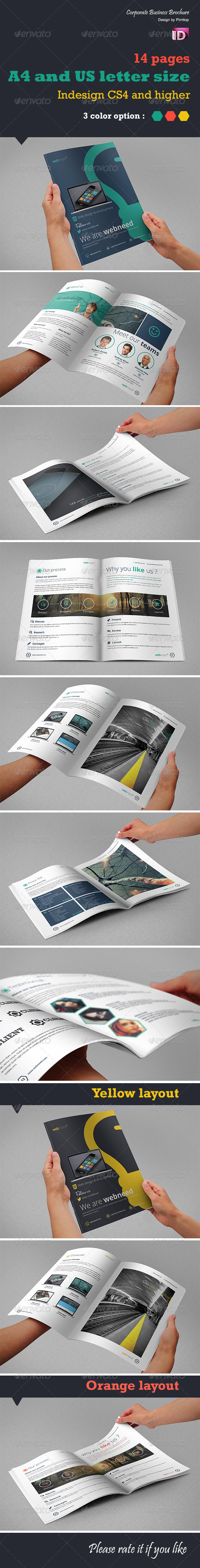 GraphicRiver Corporate Business Brochure Web need 5731290