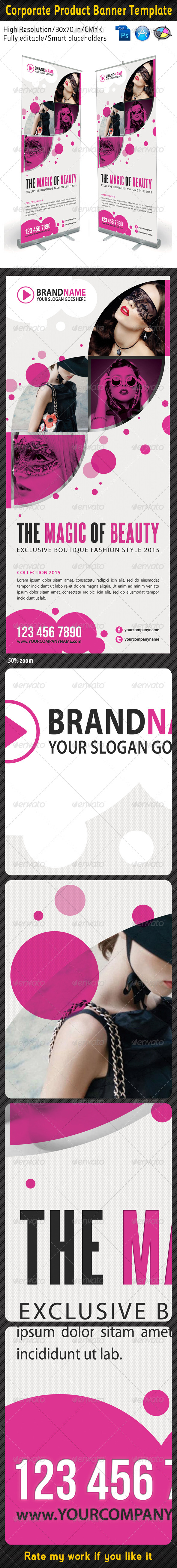 Fashion Multipurpose Banner Template 03 - Signage Print Templates