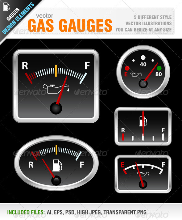 GraphicRiver Gauges 5731482
