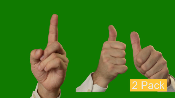 Download Hand Gestures - 2 Pack (People) HipSpire