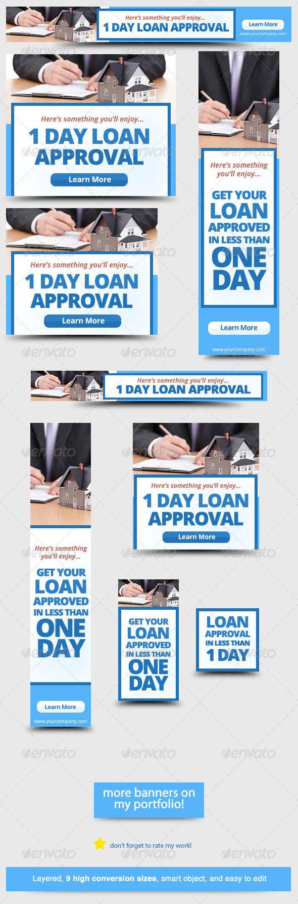 GraphicRiver Home Loan Web Banner Design Template 5732109