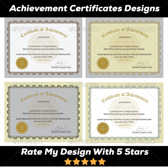 GraphicRiver Excellence Award & Achievement 5732475