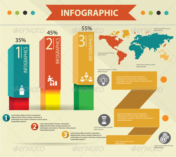 GraphicRiver Elements of Infographics 5732731
