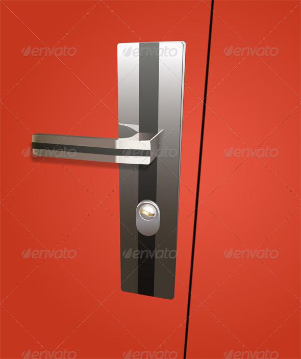 GraphicRiver Door Lock 5732893