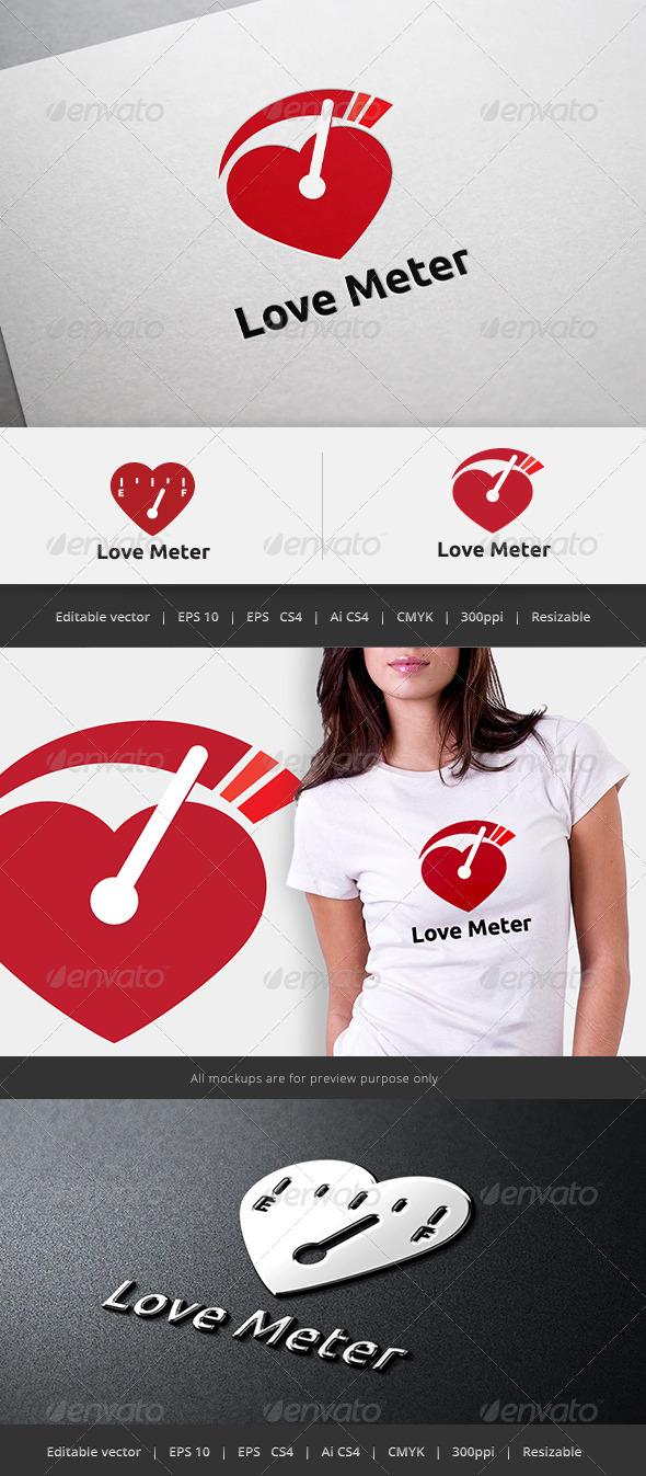 GraphicRiver Love Meter Logo 5732926