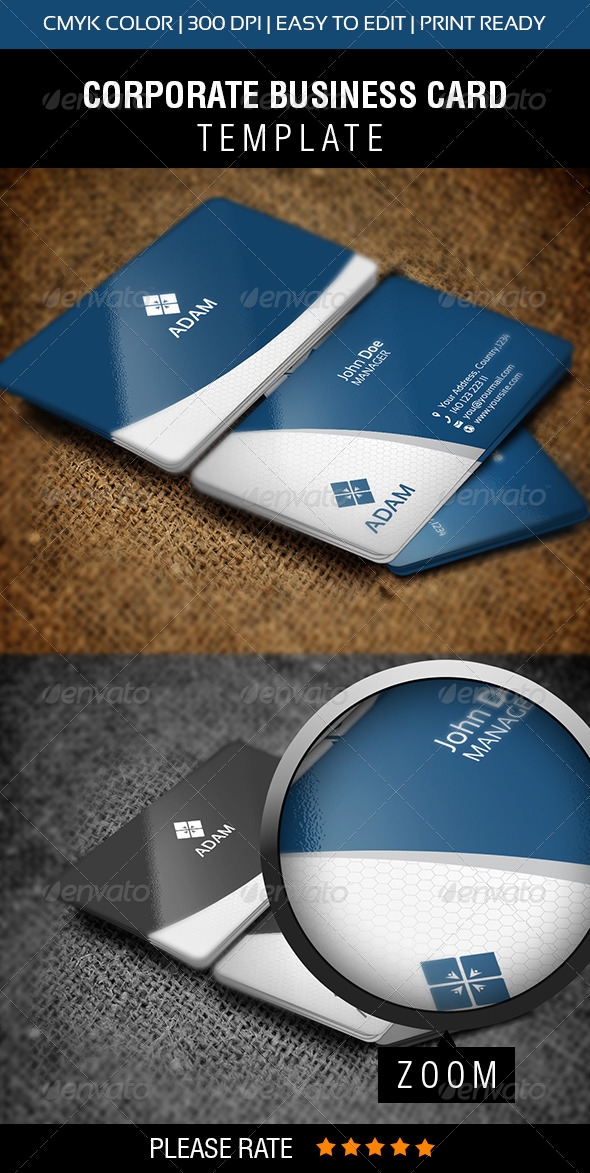 GraphicRiver Adman Business Card 5733292