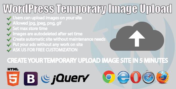 CodeCanyon WP Temporary Image Upload 5733347