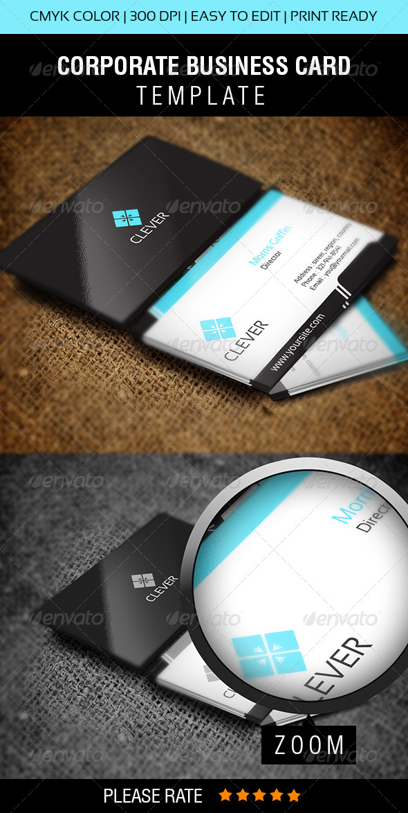 GraphicRiver Clever Business Card 5733374