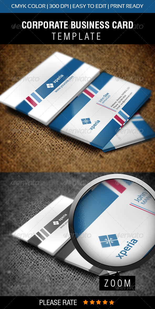 GraphicRiver Xperia Business Card 5733441