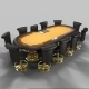 Poker Table - 3DOcean Item for Sale