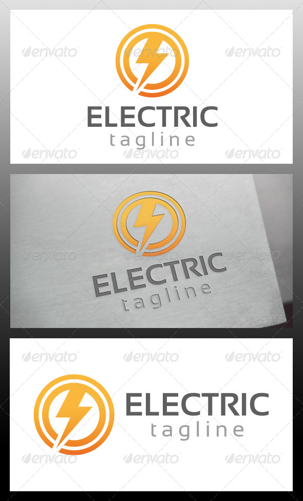 GraphicRiver Electric Logo Template 5734472