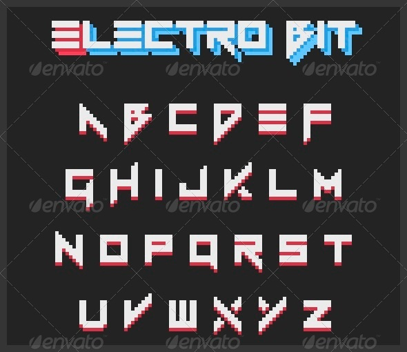 GraphicRiver Electro Bit 5734619