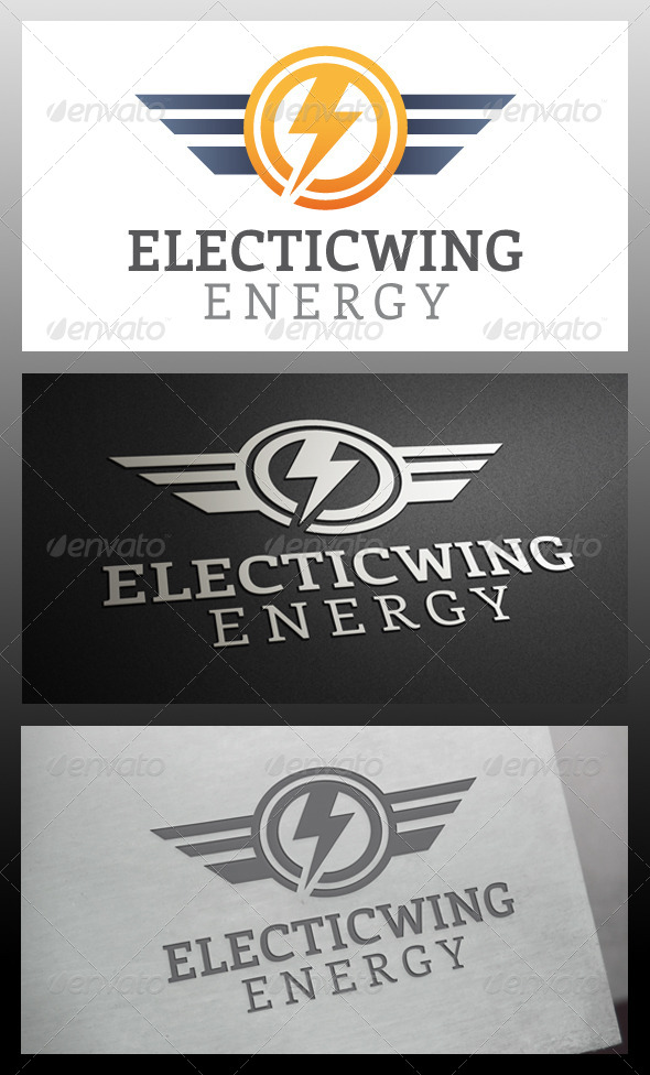 GraphicRiver Electric Wings Logo Template 5734867