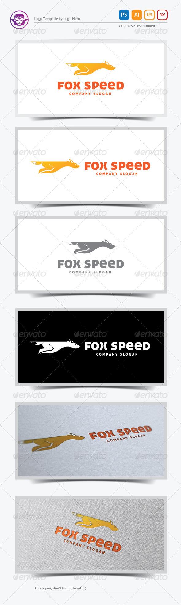 Fox Speed Logo Template