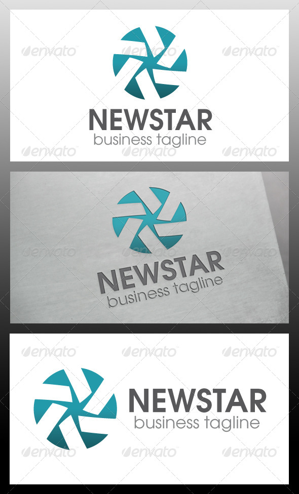 GraphicRiver New Star Logo Template 5735399