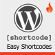 Easy Shortcode Manager for WordPress - CodeCanyon Item for Sale