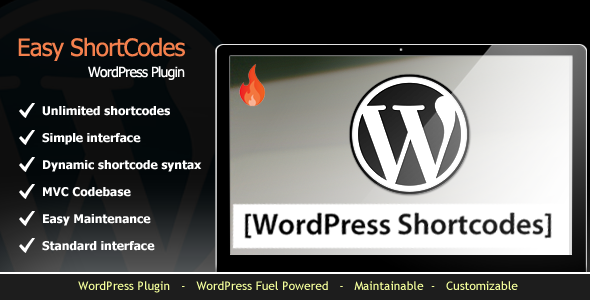 CodeCanyon Easy Shortcode Manager WordPress Plugin 5735436