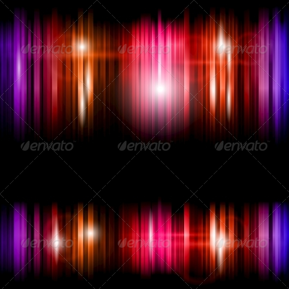 GraphicRiver Abstract Shiny Colorful Lines Background 5735875