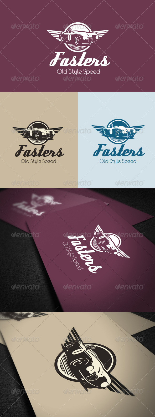 Fasters Old Style  - Vector Abstract