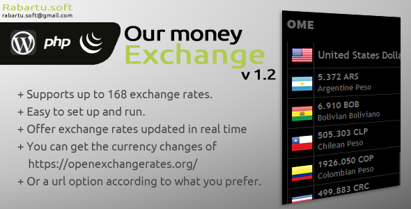 Our Money Exchange - CodeCanyon Item for Sale
