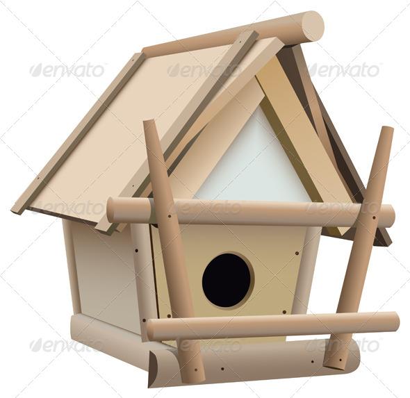 GraphicRiver Bird House 5736573