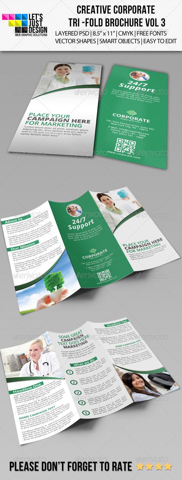 GraphicRiver Creative Corporate Tri-Fold Brochure Vol 3 5736734