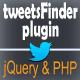 tweetsFinder