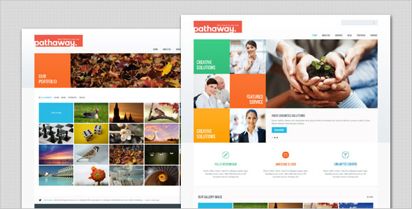 Pathaway - Modern Business WordPress Theme